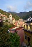 Riomaggiore, Cinque Terre, Liguria, Italie Fotografia Stock