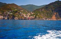 Riomaggiore Cinque Terre. In Liguria, Italy Royalty Free Stock Image