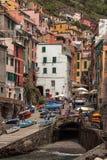 Riomaggiore, Cinque Terre, Liguria, Italy Fotos de Stock