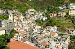 Riomaggiore (Cinque Terre Liguria Italy) Stock Images
