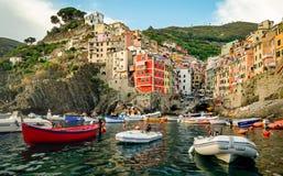 Riomaggiore (Cinque Terre Liguria Italy) Royalty Free Stock Images
