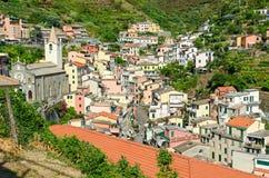 Riomaggiore (Cinque Terre Liguria Italy) Stock Photography