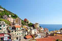 Riomaggiore (Cinque Terre Liguria Italy) Royalty Free Stock Photo