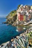 Riomaggiore, Cinque Terre, Liguria, Italy Royalty Free Stock Image