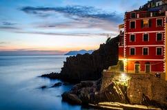 Riomaggiore (Cinque Terre Liguria Italy) Royalty Free Stock Photography