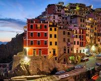 Riomaggiore (Cinque Terre Liguria Italy) Royalty Free Stock Photos