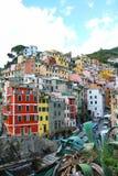 Riomaggiore, Cinque Terre, Ligurien, Italy lizenzfreies stockfoto