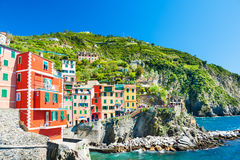 Riomaggiore, Cinque Terre national park, Italy Stock Photography