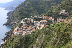 Riomaggiore in Cinque Terre National Park, Italy Royalty Free Stock Photography