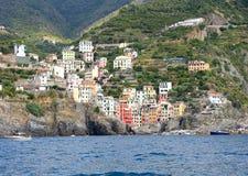 Riomaggiore Cinque Terre stock photos