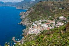 Riomaggiore, Cinque Terre, Tuskany Zdjęcie Royalty Free