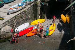 Riomaggiore, Cinque Terre, Tuskany Royalty Free Stock Photo