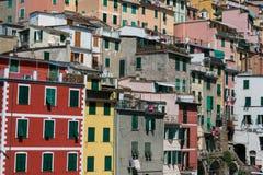 Riomaggiore, Cinque Terre, Tuskany Royalty Free Stock Photography