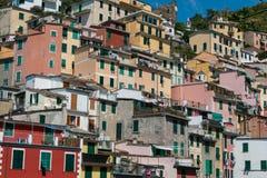 Riomaggiore, Cinque Terre, Tuskany Stock Image
