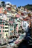 Riomaggiore, Cinqueterre, Italia Immagine Stock Libera da Diritti
