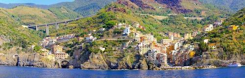 Riomaggiore coast Royalty Free Stock Photo