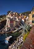 Riomaggiore coast Royalty Free Stock Photos