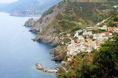 Riomaggiore coast Royalty Free Stock Image