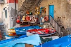 riomaggiore de l'Italie Photo libre de droits
