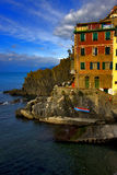 riomaggiore de l'Italie Photo stock
