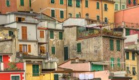 Riomaggiore - Detail Stock Image