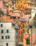 Riomaggiore - Detail Stock Photography