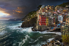 Riomaggiore. Royalty Free Stock Photography