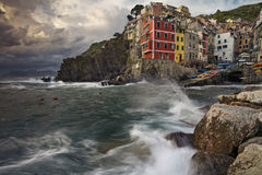 Riomaggiore. Stock Image