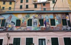 Riomaggiore, Italië Royalty-vrije Stock Afbeeldingen