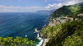 Riomaggiore Italië - Cinqueterre Royalty-vrije Stock Afbeelding