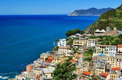Riomaggiore Italia, Europa Foto de archivo libre de regalías