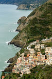 Riomaggiore, Italien lizenzfreies stockbild