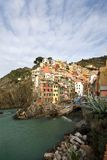 Riomaggiore, Italien lizenzfreie stockfotografie
