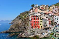 Riomaggiore, Italy Foto de Stock Royalty Free