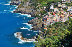 Riomaggiore Italy,Europe Royalty Free Stock Photo