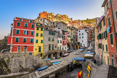 Riomaggiore Italy Royalty Free Stock Photography