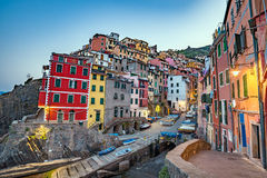 Riomaggiore , Italy Royalty Free Stock Images