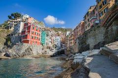 Riomaggiore in La Spezia, Italy Royalty Free Stock Images