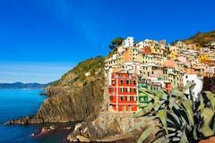 Riomaggiore Liguria Italy Royalty Free Stock Image