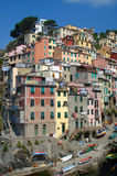 Riomaggiore. One of the villages of Cinque Terre, Liguria, Italy Stock Image