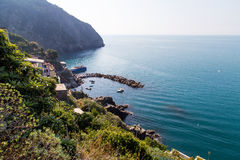 Riomaggiore seaside scenery Royalty Free Stock Photo