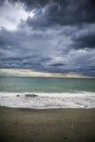 Riomaggiore, terre de cinque images libres de droits