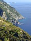 Riomaggiore, terre de cinque. l'Italie photographie stock libre de droits