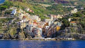 Riomaggiore town Stock Image