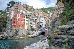 Riomaggiore view Stock Photo