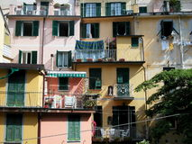 Riomaggiore village, Cinque Terre, Italy Royalty Free Stock Images