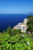 Riomaggiore village, Cinque Terre, Italy Stock Images