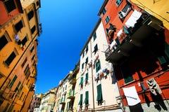 Riomaggiore village, Cinque Terre, Italy Royalty Free Stock Photos