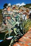 Riomaggiore village, Cinque Terre, Italy Stock Photography