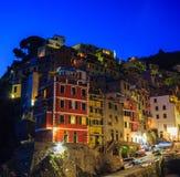 Riomaggiore Village, Cinque Terre, Italy Royalty Free Stock Images